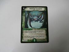 Carte Duel Masters Red-Eye Scorpion Rare !!!
