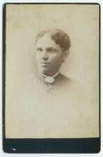 VINTAGE RARE SOPHISTICATED ETHNIC IMAGE: African American Woman Cabinet Card