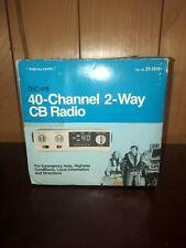 Realistic TRC-418 40-Channel 2-Way CB Radio 21-1511 NOS