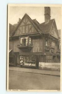 Postcard The Weavers Canterbury Printed Unposted GL