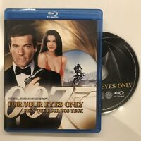 For Your Eyes Only (Blu-ray Disc, 2008, Canadian Sensormatic Widescreen)