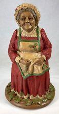 """Tom Clark Gnome Belle Kringle Mrs Claus & Elf Christmas Gift 9.75"""" Cairn Studios"""