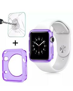 9H Tempered Glass Film Screen Protector Sport for Apple Watch iWatch 38mm 42mm