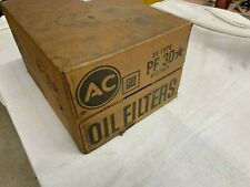 Full NOS Case of PF30 GM AC Blue Oil Filters