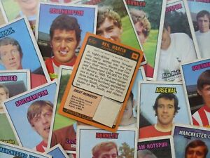 A&BC Football Cards - Orange Back (1970) - Complete Your Collection