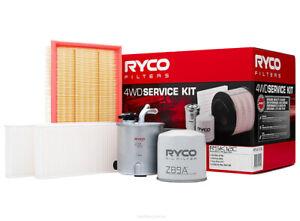 Ryco 4x4 Filter Service Kit RSK12C fits Nissan Navara 2.5 dCi 4x4 (D40), 2.5 ...