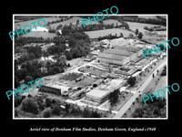 OLD LARGE HISTORIC PHOTO AERIAL VIEW DENHAM STUDIO DENHAM GREEN ENGLAND 1940 2