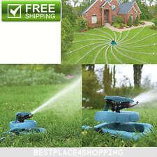 Lawn Sprinkler Watering System Water Hose Spray Pattern Garden Sled Base Impulse