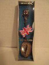 "Vintage Exquisite Silver-plated Souvenir Collectible Spoon ""London"""