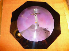 "«TOTO ""Georgy Porgy""  Picture Disc Octagon Shaped 10½"" LP 45Rpm–Columbia Records"