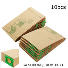 10 pack Vacuum Cleaner Hoover paper Dust Bags For X C 370 X1 X4 X7 5093ER !