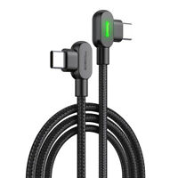 Mcdodo 90 Grad Button PD Kabel USB-C auf USB-C 1,5 Meter LED Datenkabel