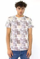 PRIMO EMPORIO 2269038 T-SHIRT NATURALE tshirt maglia manica corta maglietta POLO