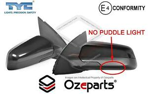 Set / Pair LH+RH Electric Door Mirror Black 3Pins For Holden Commodore VE 06~13