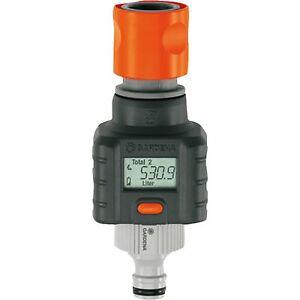 GARDENA Wassermengenzähler 8188-20, Messgerät, grau