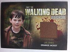 Cryptozoic Walking Dead Season 2 Costume M4 Riggs Carl Grimes Wardrobe Card