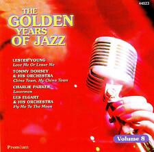 "♫♫ The Golden Years of Jazz "" Volume 8 "" CD 16TRACKS NEW original package"