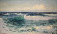 ZWPT1362 100% handmade painted ocean seascape oil painting art on Canvas