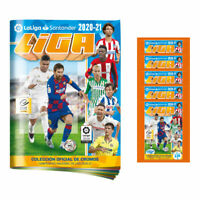 2020-21 PANINI LA LIGA STICKERS STARTER PACK ALBUM & 4 PACK TOTAL OF 30 STICKERS