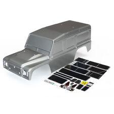 Traxxas Z-TRX8011X Land Rover Defender cuerpo y calcomanías (Grafito Plata) Nuevo en Paquete