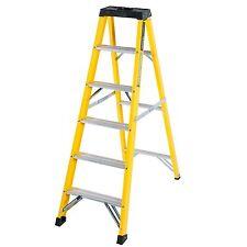 TB Davies Trade 6 Tread Electrician Fibreglass Swingback Step Ladder