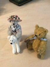 Lori Wright Bear and Miniature Artist Bear