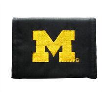 Michigan Wolverines Bifold Wallet Black
