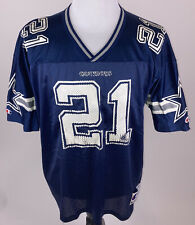 Vintage 90s Champion Deion Sanders Jersey Sz 48 Dallas Cowboys NFL Football VTG