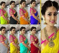pakistani Bollywood indian designer saree colorful sari fancy traditional work 1