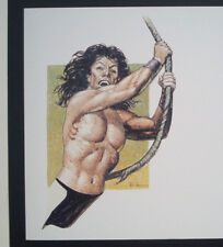 Don Lawrence Tarzan 1998 The Collection ( Storm Trigan )