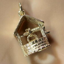9ct gold new wishing well charm
