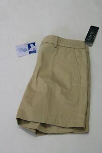 NEW Lauren Ralph Lauren  Womens 4 Beige Khaki Shorts NWT