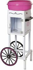 Cotton Candy Machine Commercial Cart Electric Sugar-Free Floss Maker Carnival