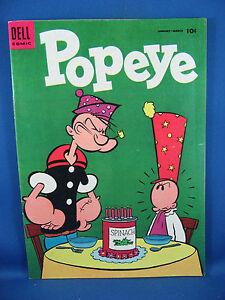 Popeye #31 (Jan-Mar 1955, Dell) Fine+