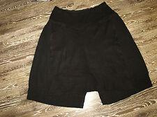 Laurea vita superposé magnifique pantalon-jupe noir taille xxxl Neuf