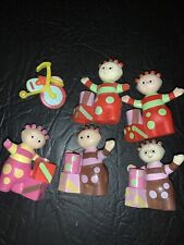 Figuras Juguete Night Garden In The Bundle-Ideal Cake Toppers/Tomliboo Paquete x 6