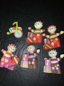 In The Night Garden Toy Figures Bundle - Ideal Cake Toppers/ Tomliboo Bundle X 6