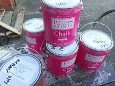 PORTER 2 LITRE CHALK EMULUTION  FOR FURNITURE TURKISH-COFFEE BROWN colour paint