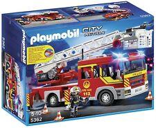 Playmobil City Action 5362 - Camion de pompier avec echelle pivotante et sirene