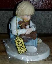 Adorable Remember When Bear Hug Figurine-Frances Hook-From Roman 1999 #46308