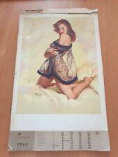Kalender 1960 Akt Models