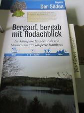 Wandertipp Süden Bayern Frankenwald Steinwiesen zur Talsperre Mauthaus Naturpark