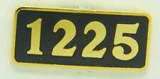 Railroad Hat-Lapel Pin/Tac-Number/Builder plate 1225     #1731-NEW