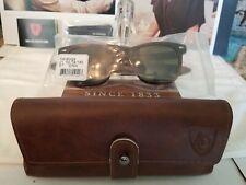 American Optical Saratoga Nylon True Tone Green Lenses Tortoise Sunglasses NEW