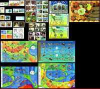 BRAZIL 2015 ALL STAMPS ISSUED, FULL YEAR, SCOTT VALUE $ 150.90, ALL MNH