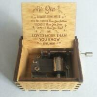 To My Son To My Gorgeous Wife -Engraved Music Box Gift