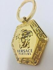 VERSACE MEDUSA KEY CHAIN RING , AUTHENTIC