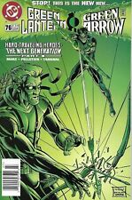 Green Lantern Comic Issue 76 Modern Age First Print 1996 Marz Pelletier Tanghal