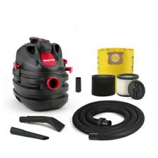 5-Gallon 6-HP Portable Wet/Dry Lightweight and portable Shop Vacuum.