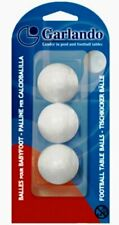 Garlando White Table Footballs - Pack of 3